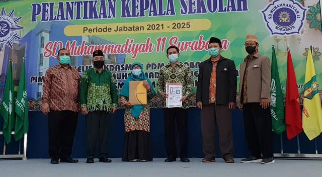 Dikdasmen Pilih Mursiah Pimpin SD Muhammadiyah 11 Kota Surabaya 1