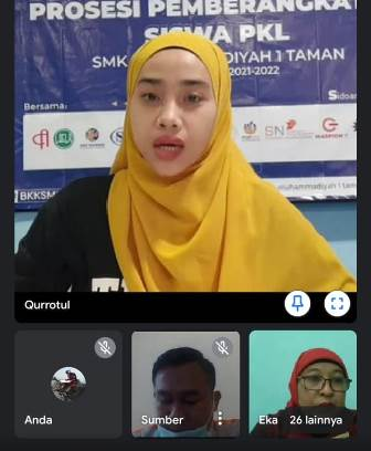PT SNAP Apresiasi Siswa PKL SMK MITA Sidoarjo Kompetensinya Profesional 1