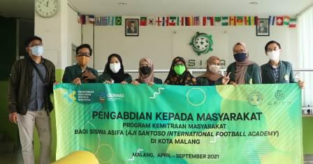 PKM Dosen Poltekkes Kemenkes Malang, Wujudkan Siswa ASIFA Berkualitas Atlit Nasional-Internasional 1