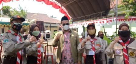 Rokhmad DPRD Kota Malang Berpantun, Peserta Vaksin Tambah Imun 2