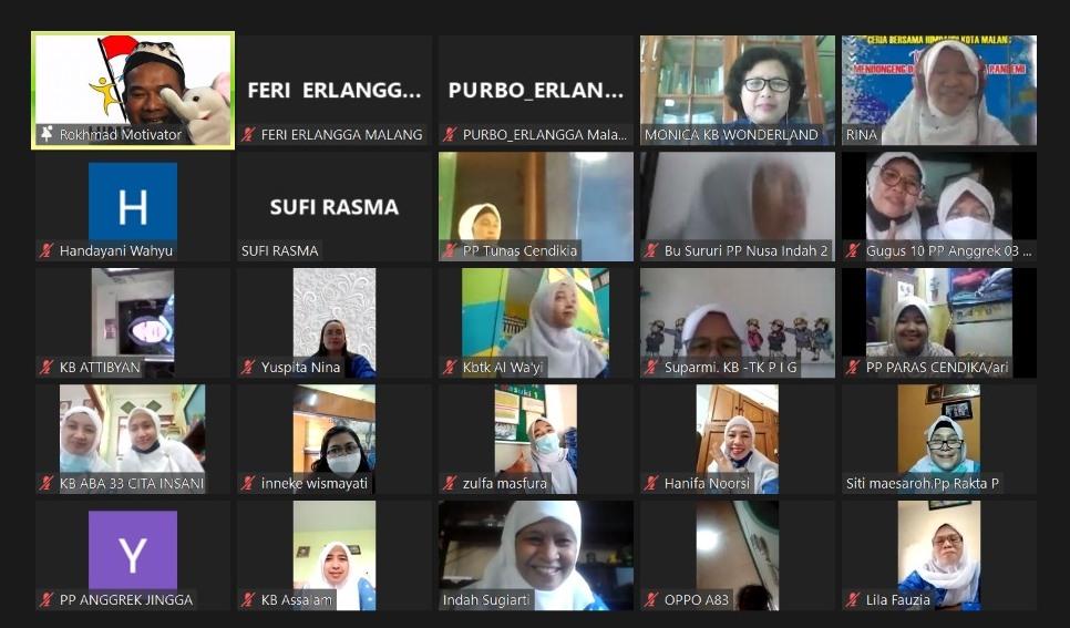 HUT 16 HIMPAUDI Kota Malang, Ustadz Rokhmad Bekali Guru Tips Trik Dongeng-Sulap 1