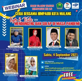 HUT 16 HIMPAUDI Kota Malang, Ustadz Rokhmad Bekali Guru Tips Trik Dongeng-Sulap 2