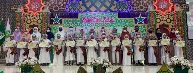 Puluhan Siswa SD Muhada Wisuda Tahfidz, Ini Kunci Suksesnya 1