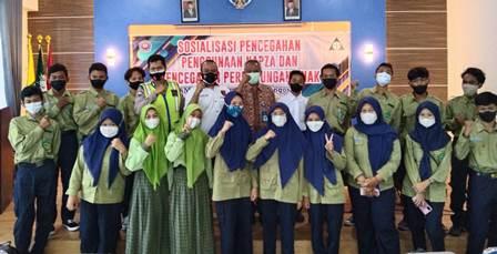 SMK Mugas PK Ajak Siswanya Anti Narkoba-Tanggap Perundungan 1